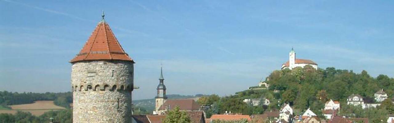 Vaihingen Blick von Grabenstraße