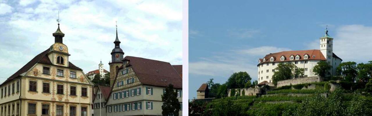Vaihingen Rathaus Schloss