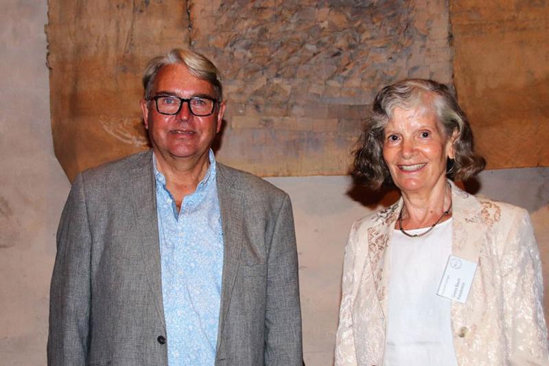 Reinhard Bolter, Gisela Baum
