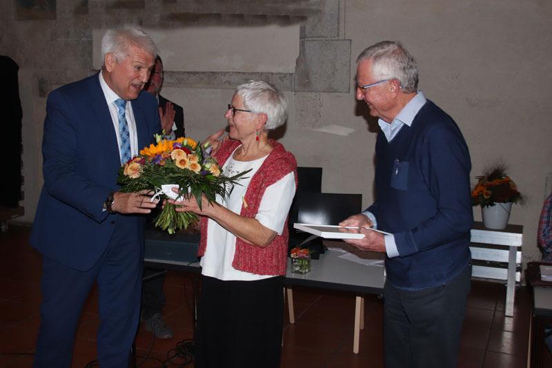 OB Maisch, Margret und Lothar Knapp
