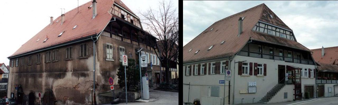 Grabenstraße 20 alt-neu